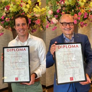 Diplomauitreiking Magister Vini
